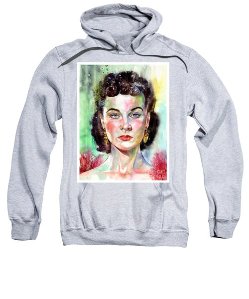 Vivien Leigh Portrait Sweatshirt