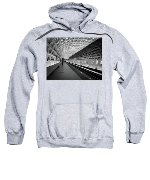 Waiting At Pentagon City Station Sweatshirt