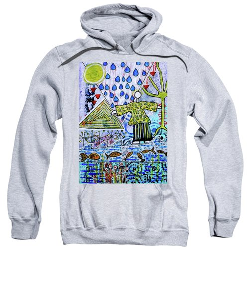 Walking On Water Sweatshirt