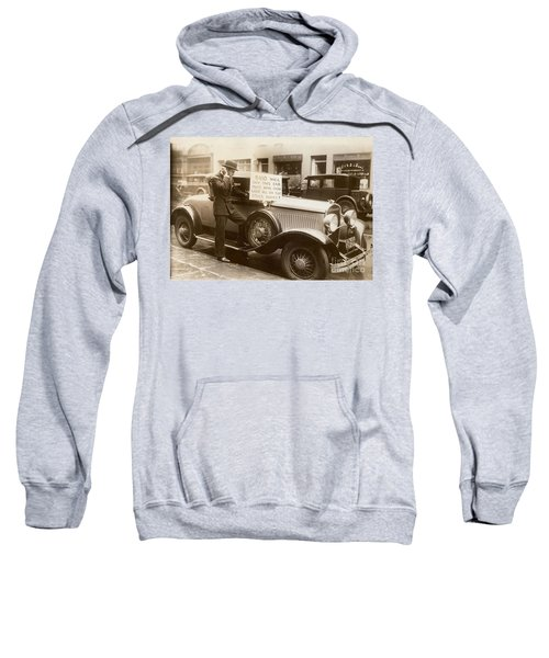 Wall Street Crash, 1929 Sweatshirt