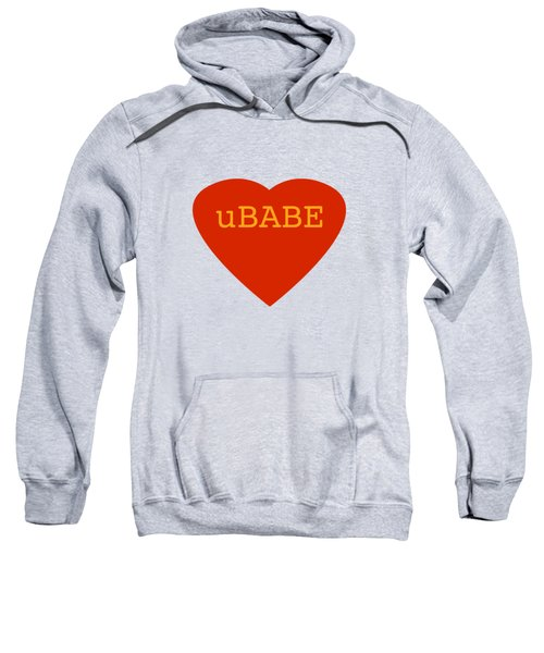 Warm Love Heart Sweatshirt