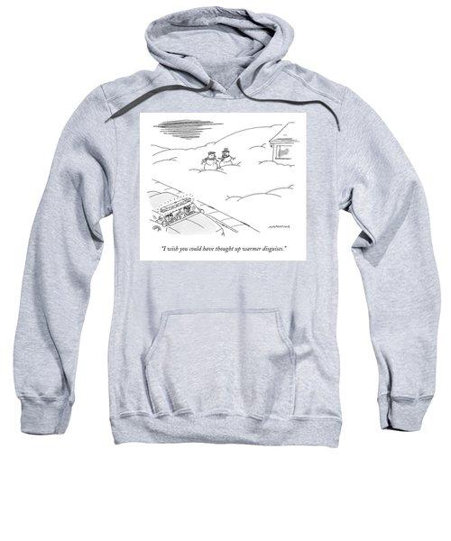 Warmer Disguises Sweatshirt