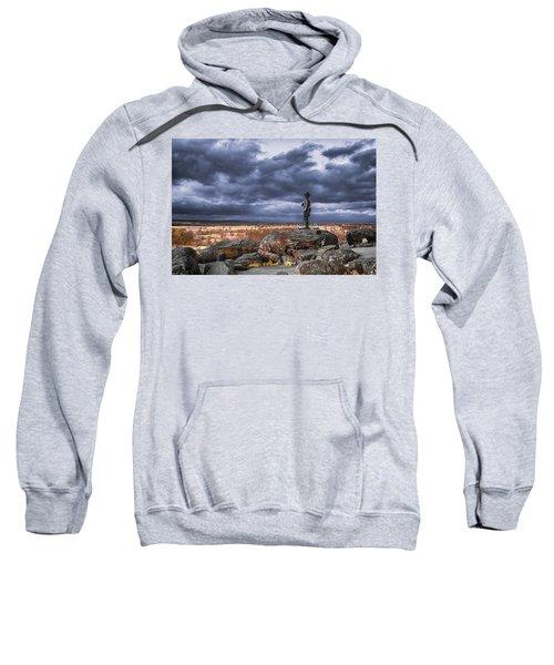 Warren In Infrared Sweatshirt