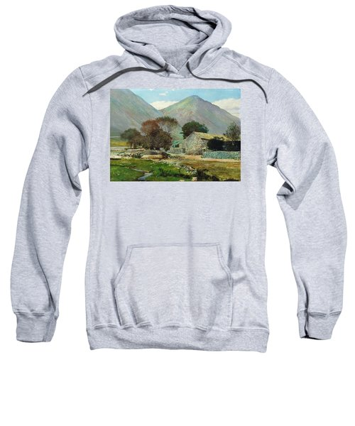 Wasdale Head With Great Gable In The Distance Sweatshirt