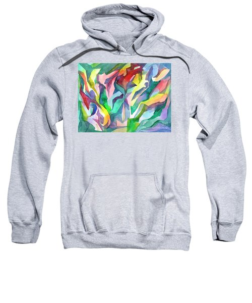 Watercolor Mosaic Sweatshirt