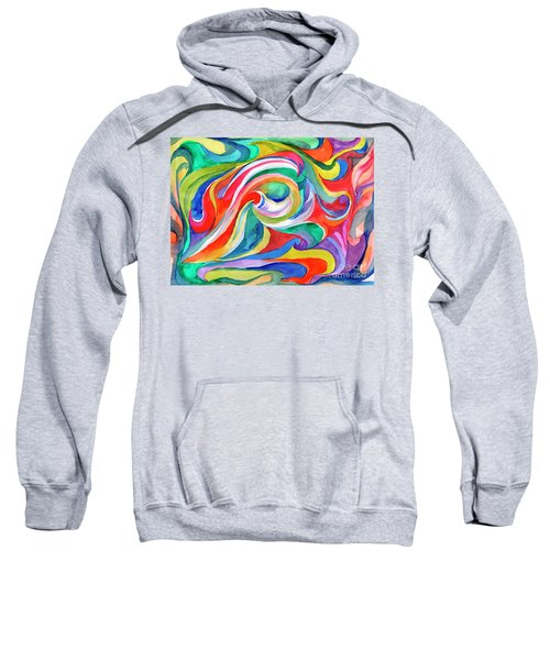 Watercolor's Swirl Sweatshirt