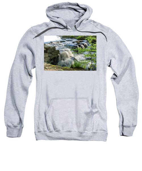 Waterfall At The Old Mill  Sweatshirt