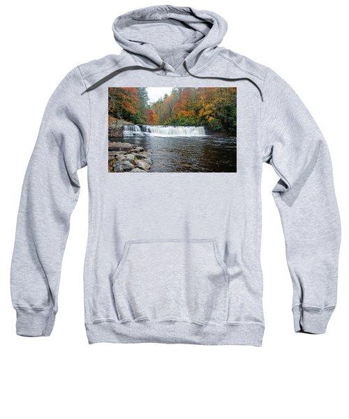 Waterfall In Autumn Sweatshirt