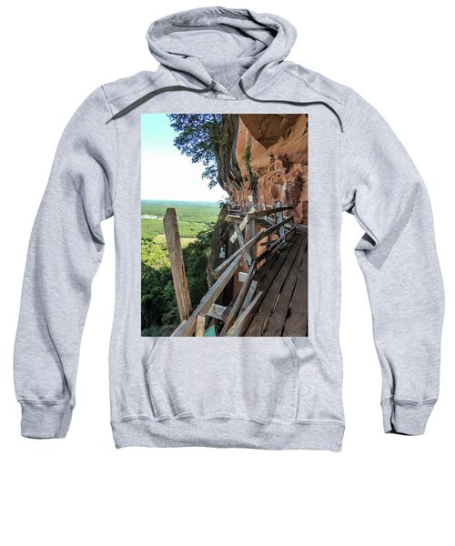 We Take Our Guests Here If They Are Brave Enough Sweatshirt