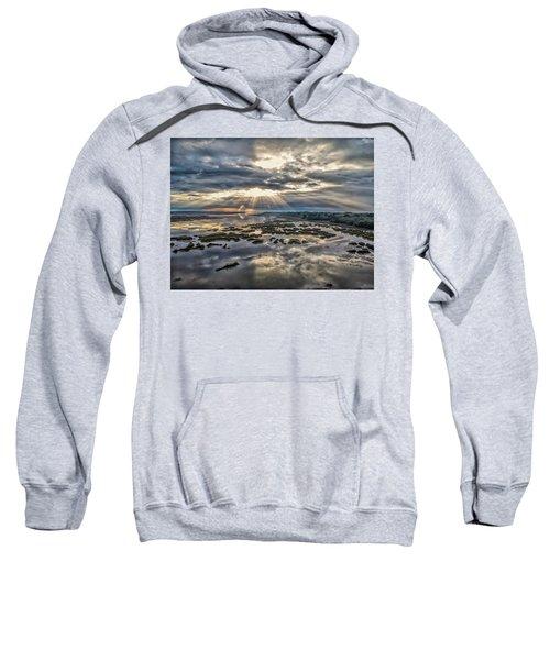 Whale Branch - Angel Rays Sweatshirt