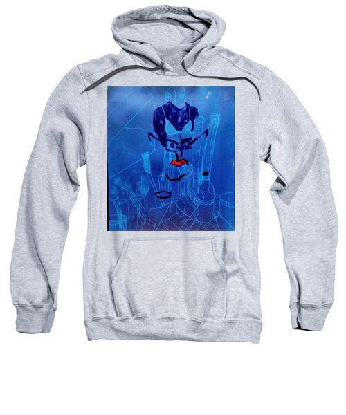 When His Face Is Blue For You Sweatshirt