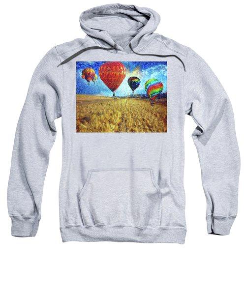 When The Sky Blooms Sweatshirt
