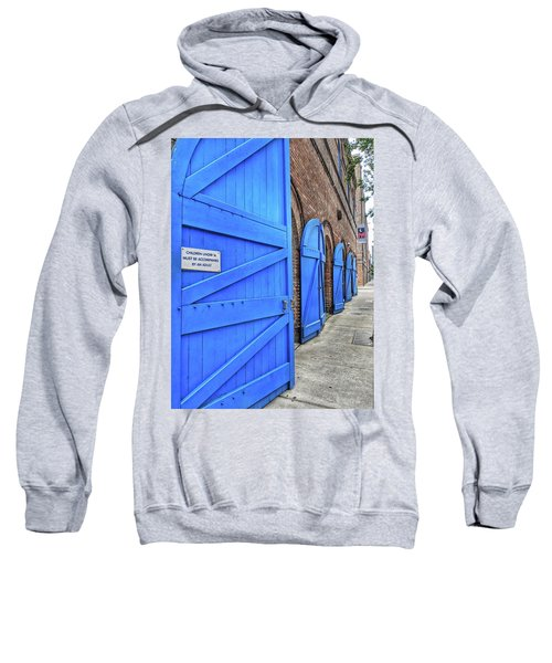 Which Blue Door Sweatshirt