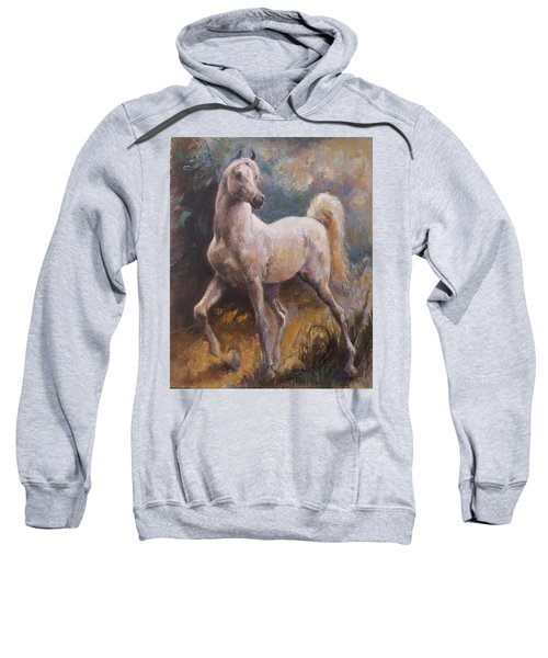 White Arabian Sweatshirt