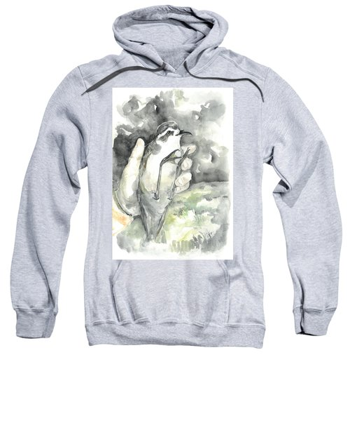 White-faced Storm-petrel Sweatshirt