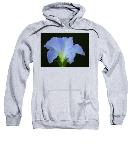 White Petunia Sweatshirt