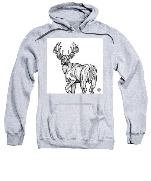 White Tailed Buck Sweatshirt