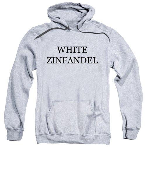 White Zinfandel Wine Costume Sweatshirt
