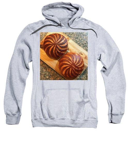 Whole Wheat Sourdough Swirls Sweatshirt