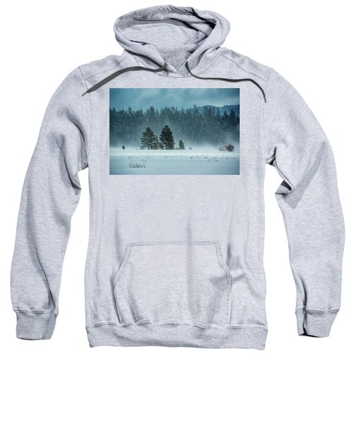 Windblown Snow Sweatshirt