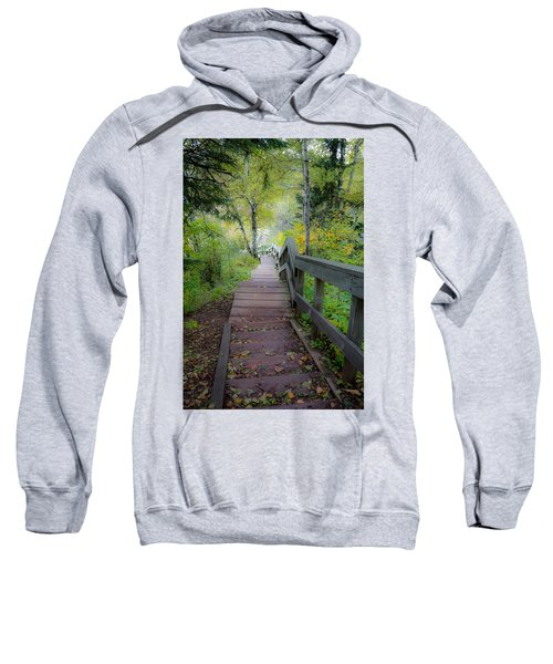 Winding Stairs In Autumn Sweatshirt
