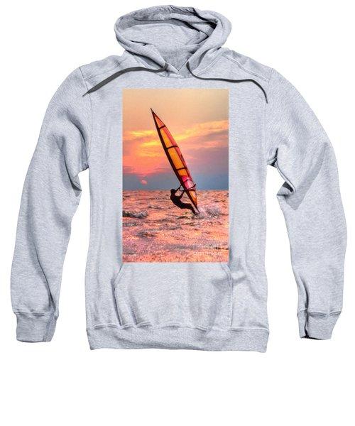 Windsurfing At Sunrise Sweatshirt
