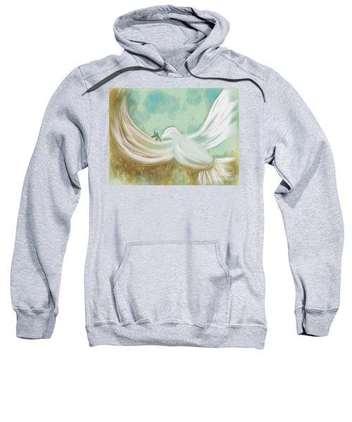 Wings Of Peace Sweatshirt