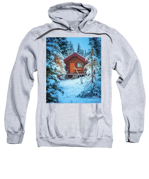 Winter Hut Sweatshirt
