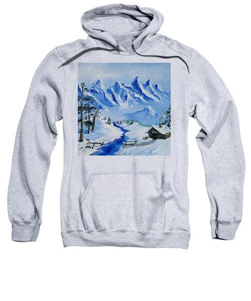 Winter In The Rockies Sweatshirt