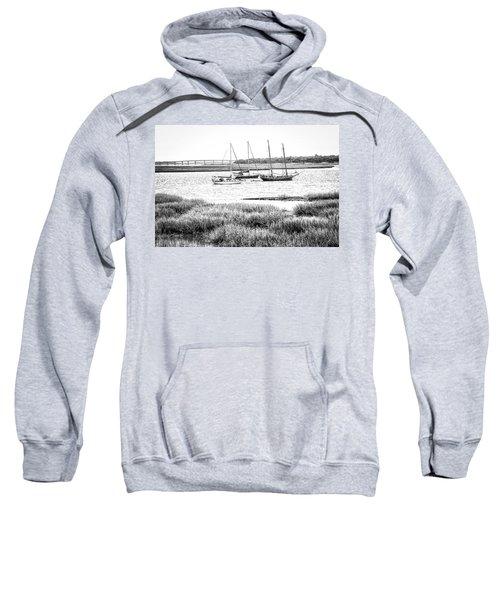 Winter Mooring - Beaufort River Sweatshirt