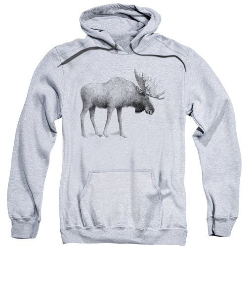 Winter Moose Sweatshirt