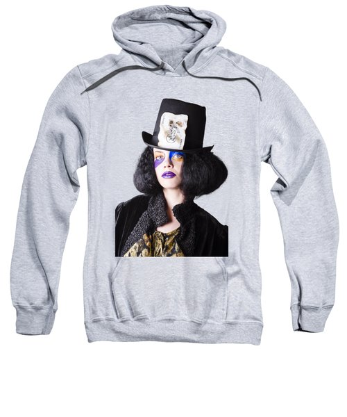 Woman In Joker Costume Sweatshirt