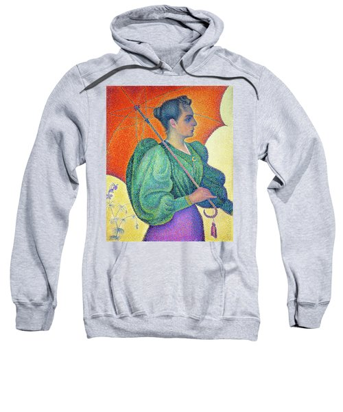 Woman With A Parasol - Digital Remastered Edition Sweatshirt