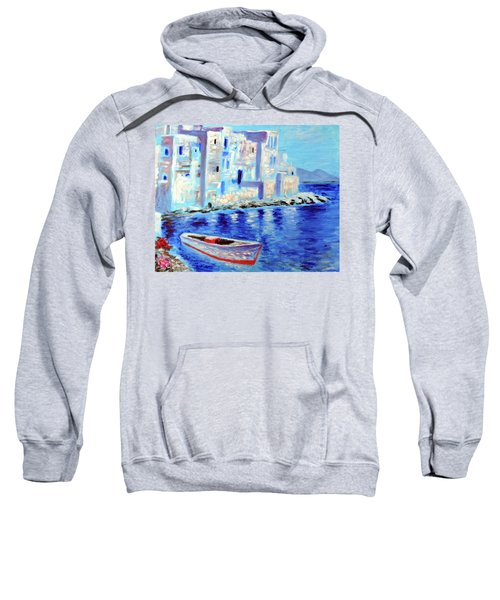 Wondrous Mykonos  Sweatshirt
