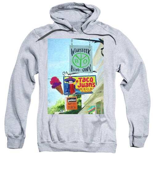 Woodstock Peace And Love 2 Sweatshirt