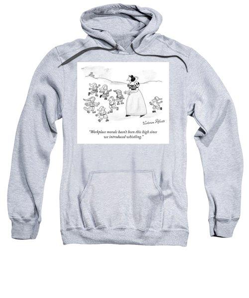 Workplace Morale Sweatshirt