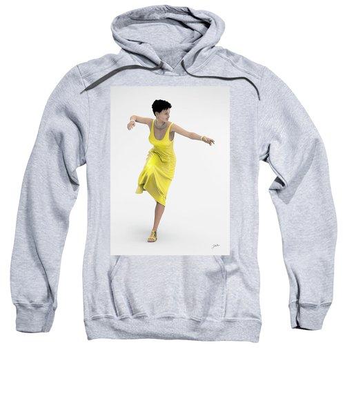 Yellow Dancer Sweatshirt