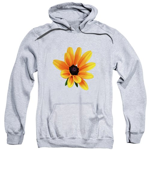 Yellow Flower Black Eyed Susan Sweatshirt