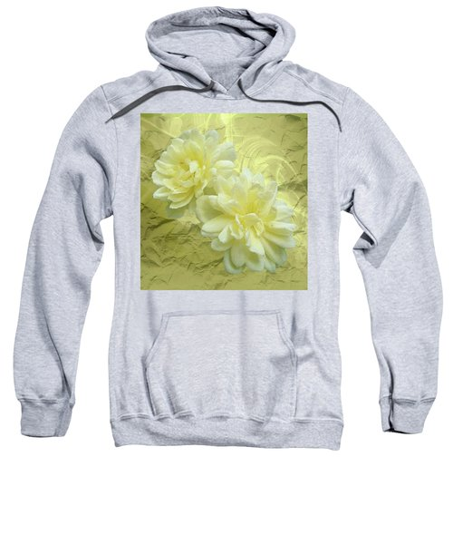Yellow Foil Sweatshirt