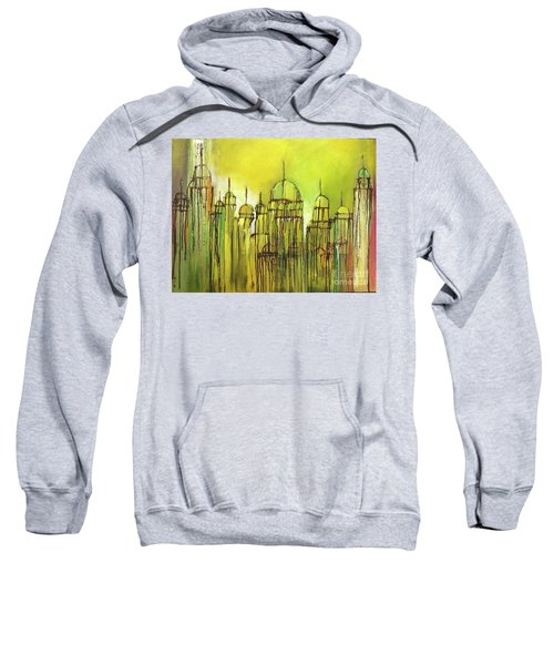 Yellow Mosque  Sweatshirt