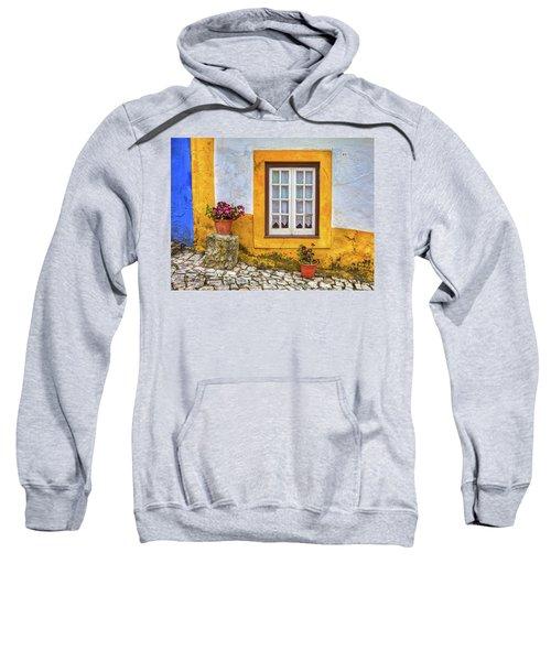 Yellow Window Of Obidos Sweatshirt
