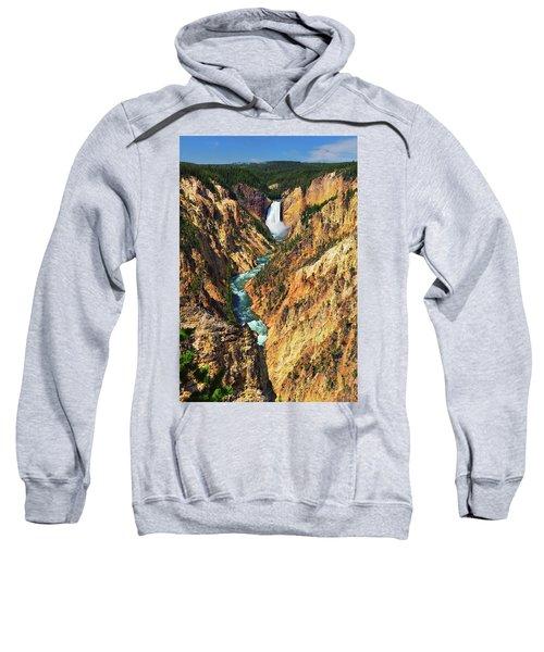 Yellowstone Grand Canyon From Artist Point Sweatshirt