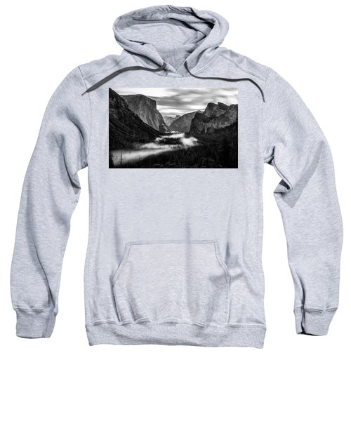 Yosemite Fog 1 Sweatshirt