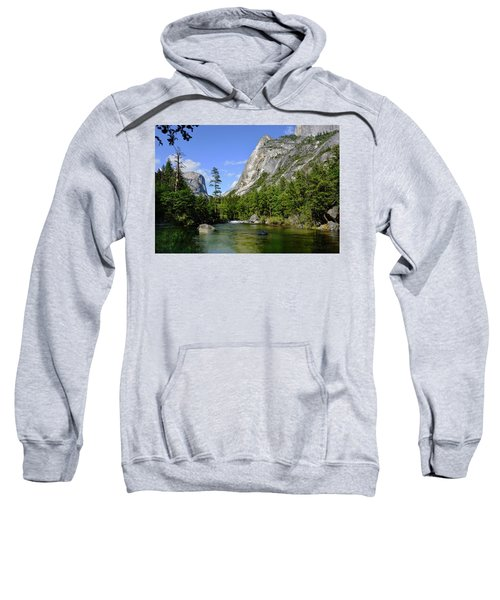 Yosemite Mirror Lake, Lower Pool Sweatshirt