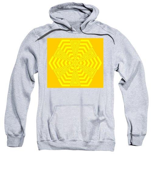 Young At Heart Yellow Sweatshirt