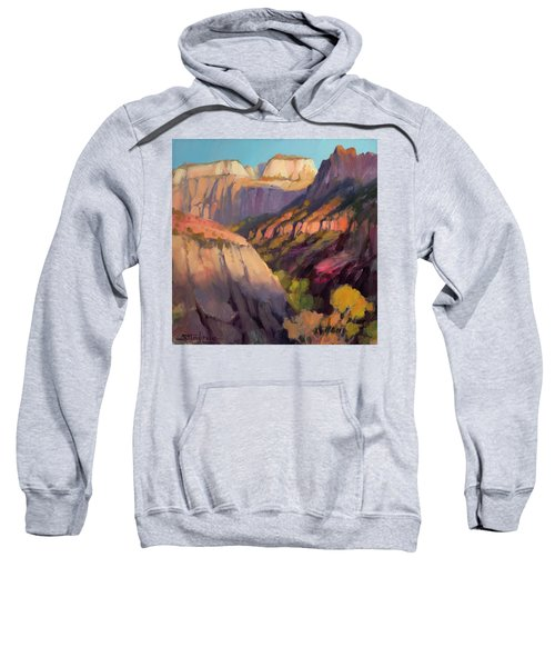 Zion's West Canyon Sweatshirt