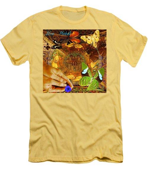 Civitate Dei   City Of God  Men's T-Shirt (Slim Fit) by Joseph Mosley