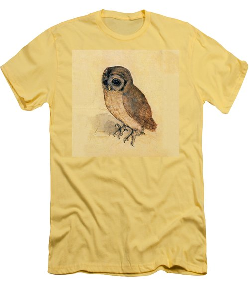Little Owl Men's T-Shirt (Slim Fit) by Albrecht Durer