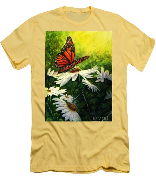 A Life-changing Encounter Men's T-Shirt (Slim Fit) by Hazel Holland
