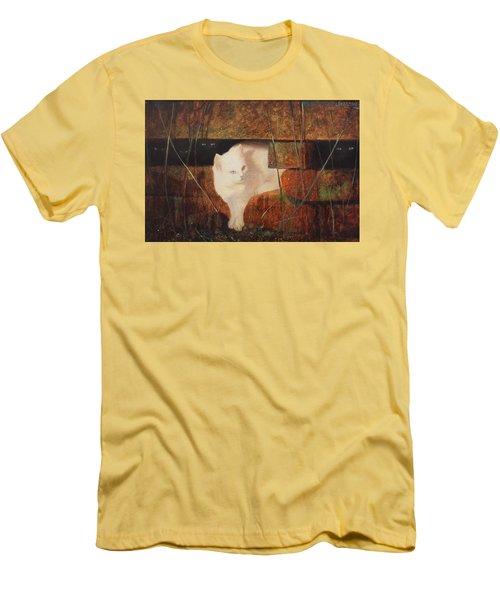 Castaway Cats Men's T-Shirt (Slim Fit) by Blue Sky